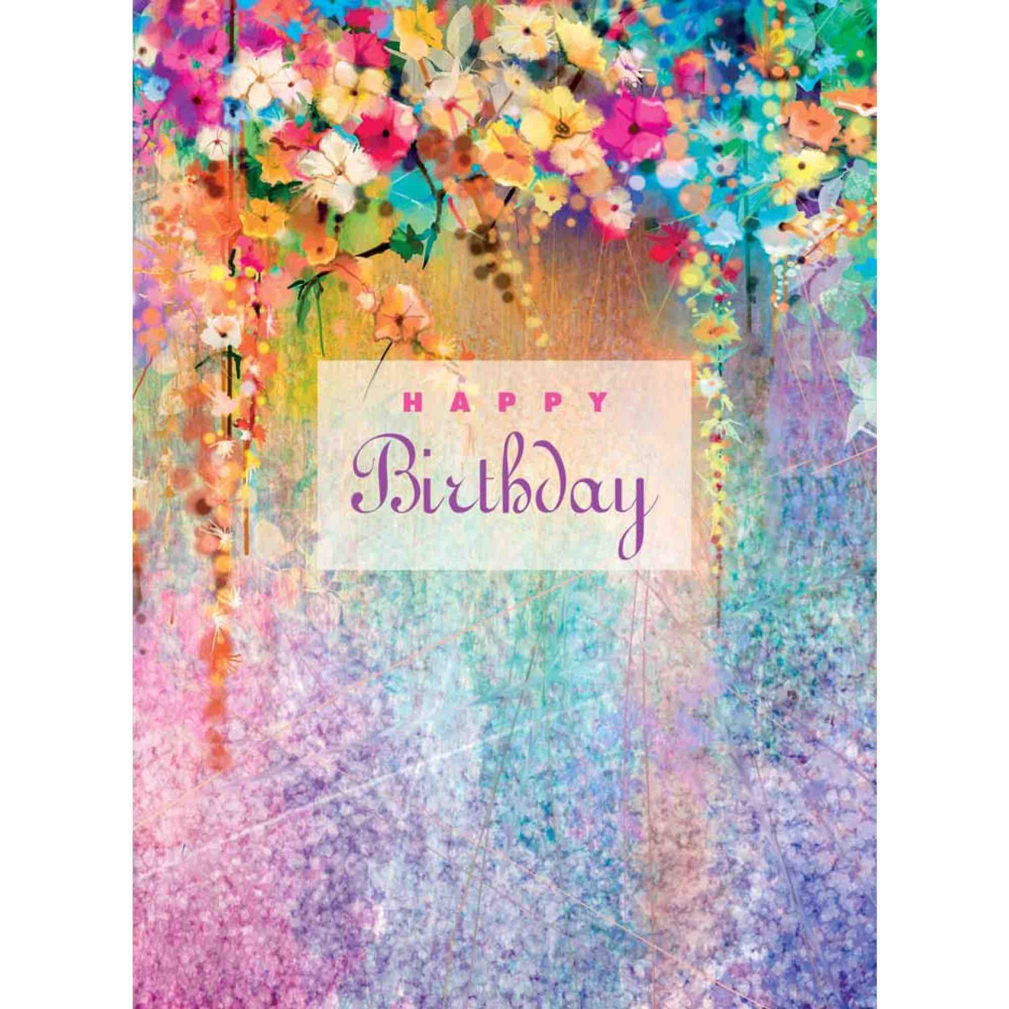 Birthday Card | Swiss Garden