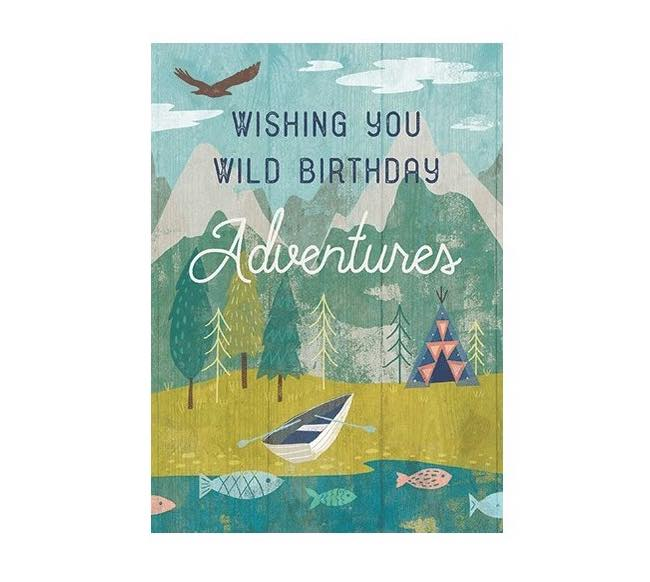 Birthday Card | Wild Adventures