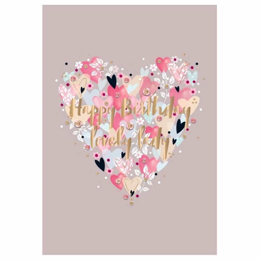 Birthday Card | Birthday Hearts