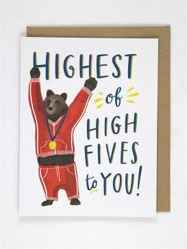 Congrats Card | Highest of High Fives
