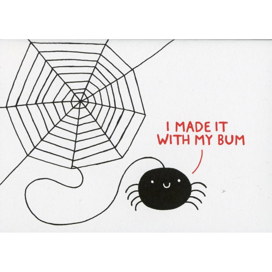 Birthday Card | Spider