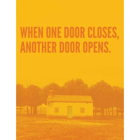 Greeting Card | When One Door Closes disc