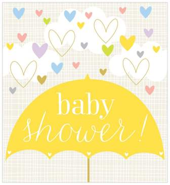 Baby Card | Shower Umbrella