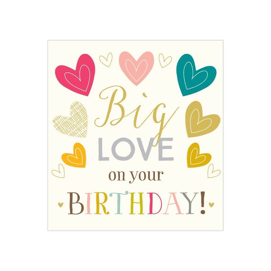 Birthday Card | Big Love