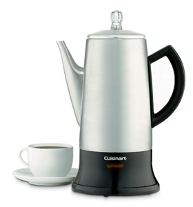 Cuisinart Cordless Percolator | 4-12 cups