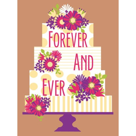 Wedding Card | Forever Layer Cake