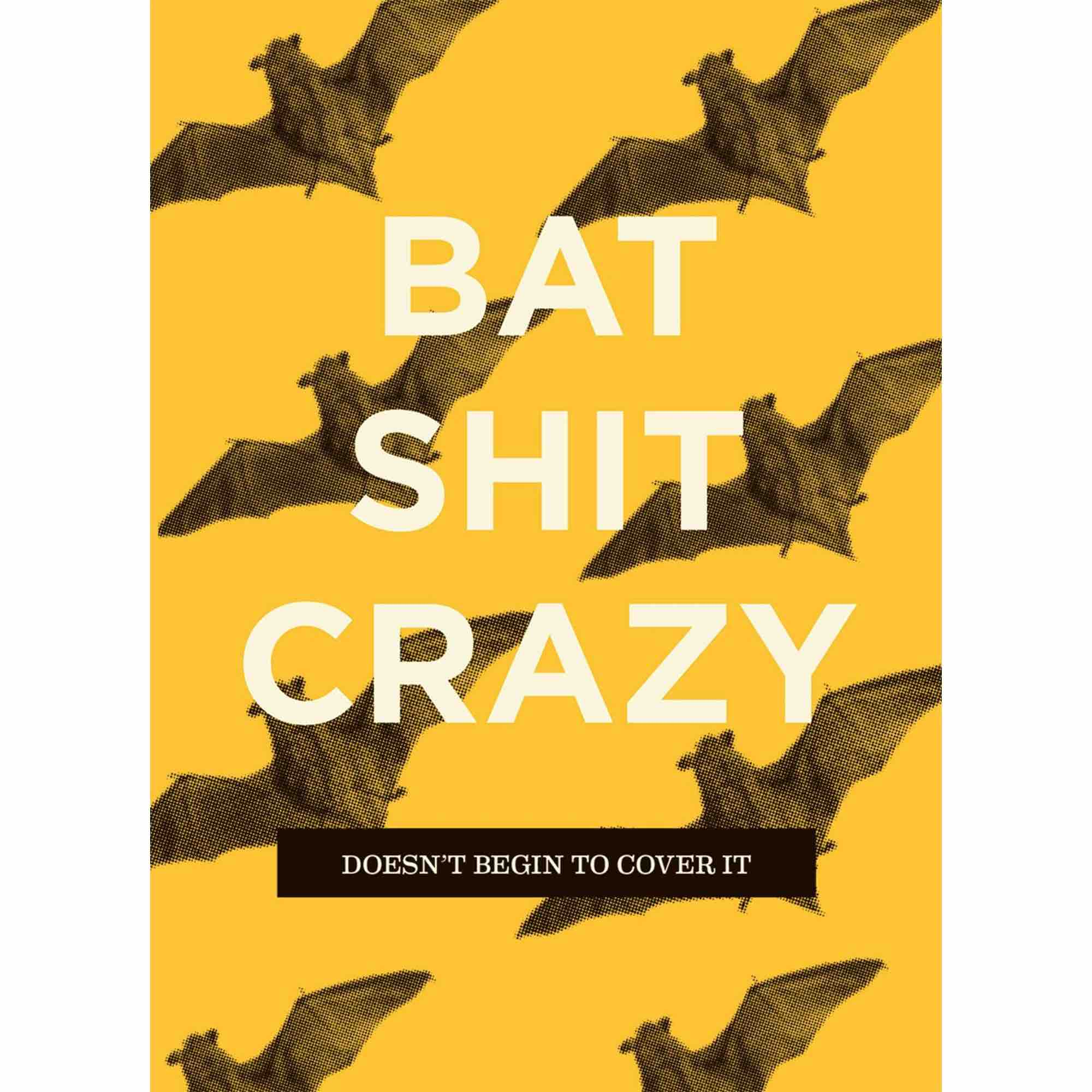 Birthday Card | Bat Sh Crazy