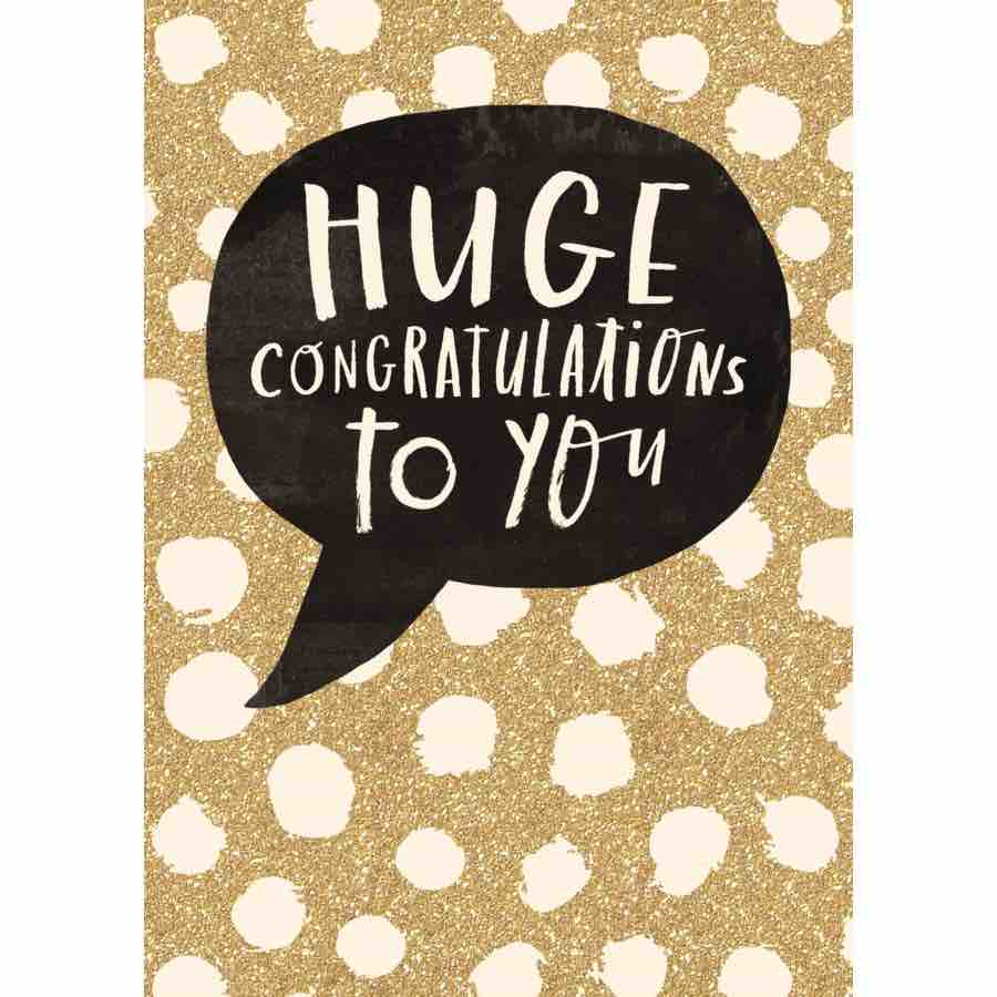 Congrats Card | Huge Congratulations