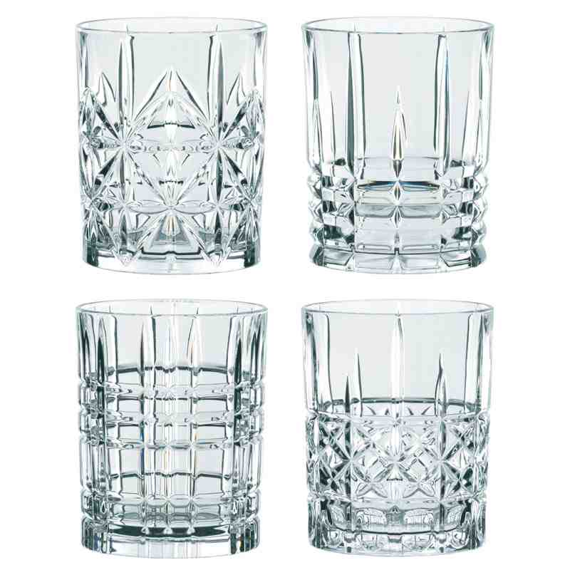 Nachtmann Highland Whisky Tumbler Set of 4