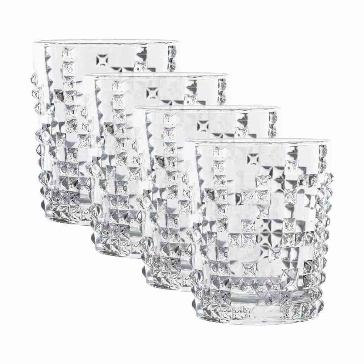 Nachtmann Punk Whisky Tumblers | Set of 4