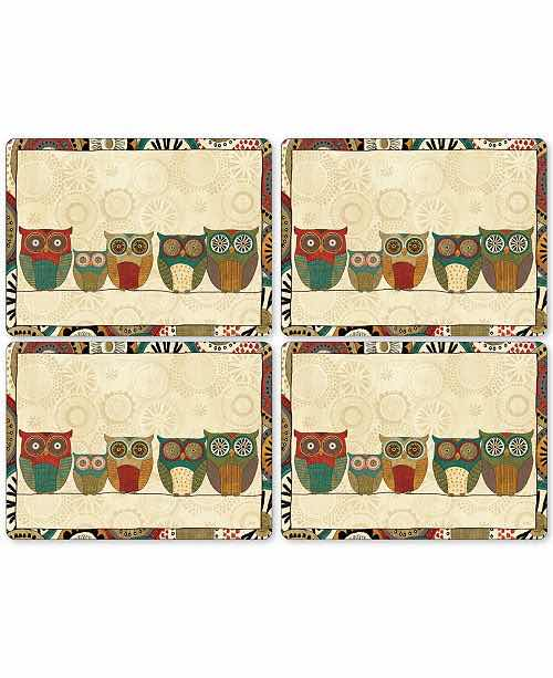 Pimpernel Placemats | Set of 4 | Spice Road