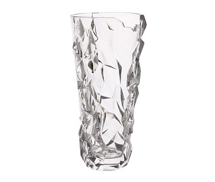 "Nachtmann Sculpture 13"" Crystal Vase"