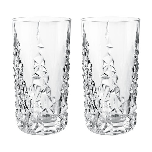 Nachtmann Sculpture Longdrink Tumbler | Set of 2