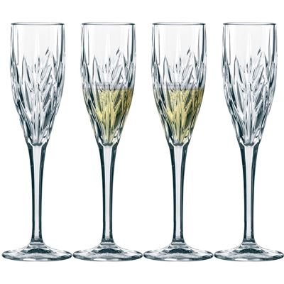 Nachtmann Imperial Sparkling Wine Flutes Set of 4