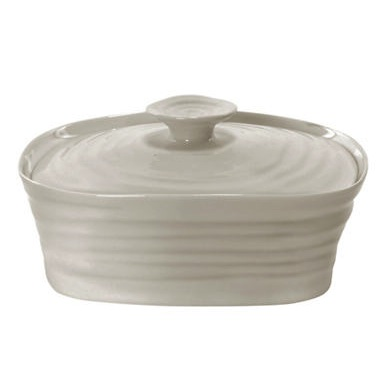 Sophie Conran Pebble Butter Dish - Lidded
