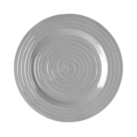"Sophie Conran Grey 9"" Salad Plates 