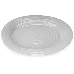 "Sophie Conran Grey Oval Platter 14.75x12"" Medium"