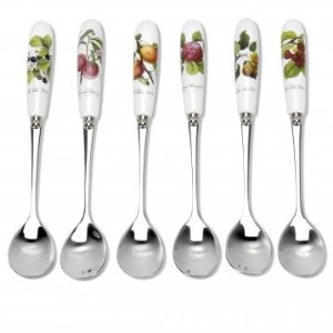 Portmeirion Pomona Tea Spoons Boxed Set of 6
