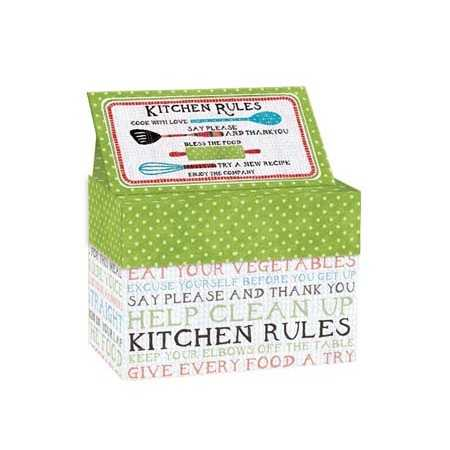 Recipe Card Box | Kitchen Rules
