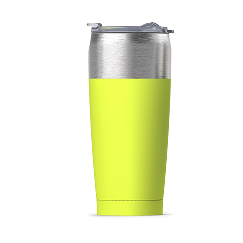 Tied Tumbler Insulated Steel Travel Mug | Lime