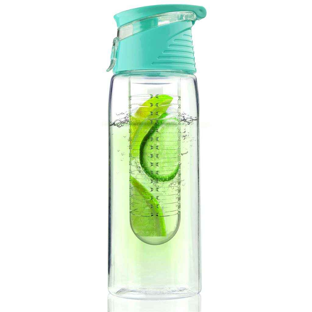Flavour 2 Go | Water Bottle with Infuser | Teal 20oz
