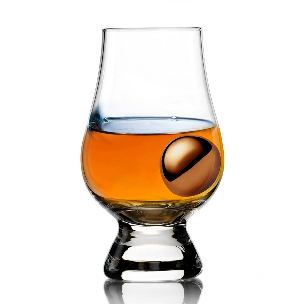 The Glencairn Glass with Ice Ball | 7oz Scotch Tasting Set