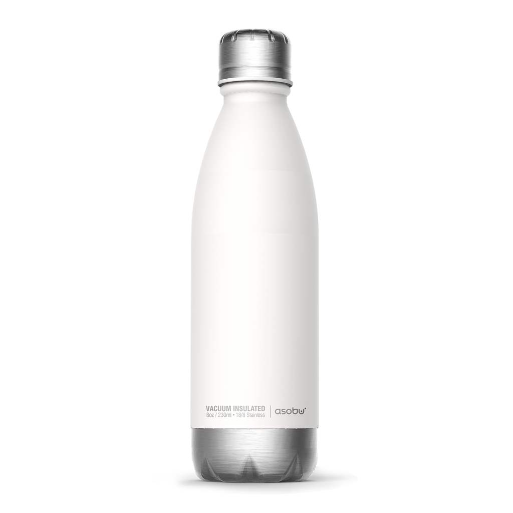 Central Park Insulated Water Bottle | White 17oz