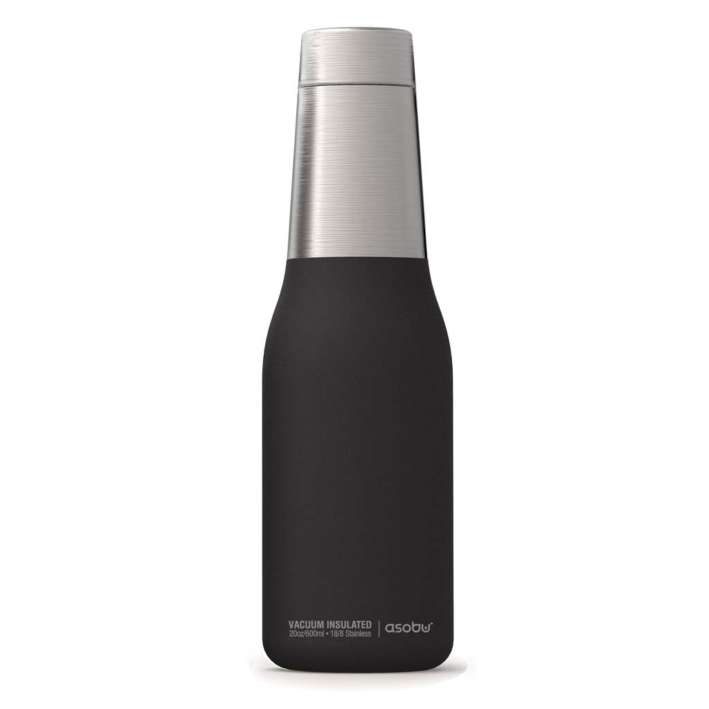 Oasis Insulated Water Bottle | Black 20oz