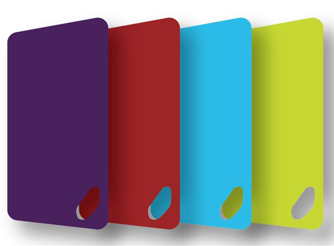 Polypropylene Cutting Boards | Set of 4