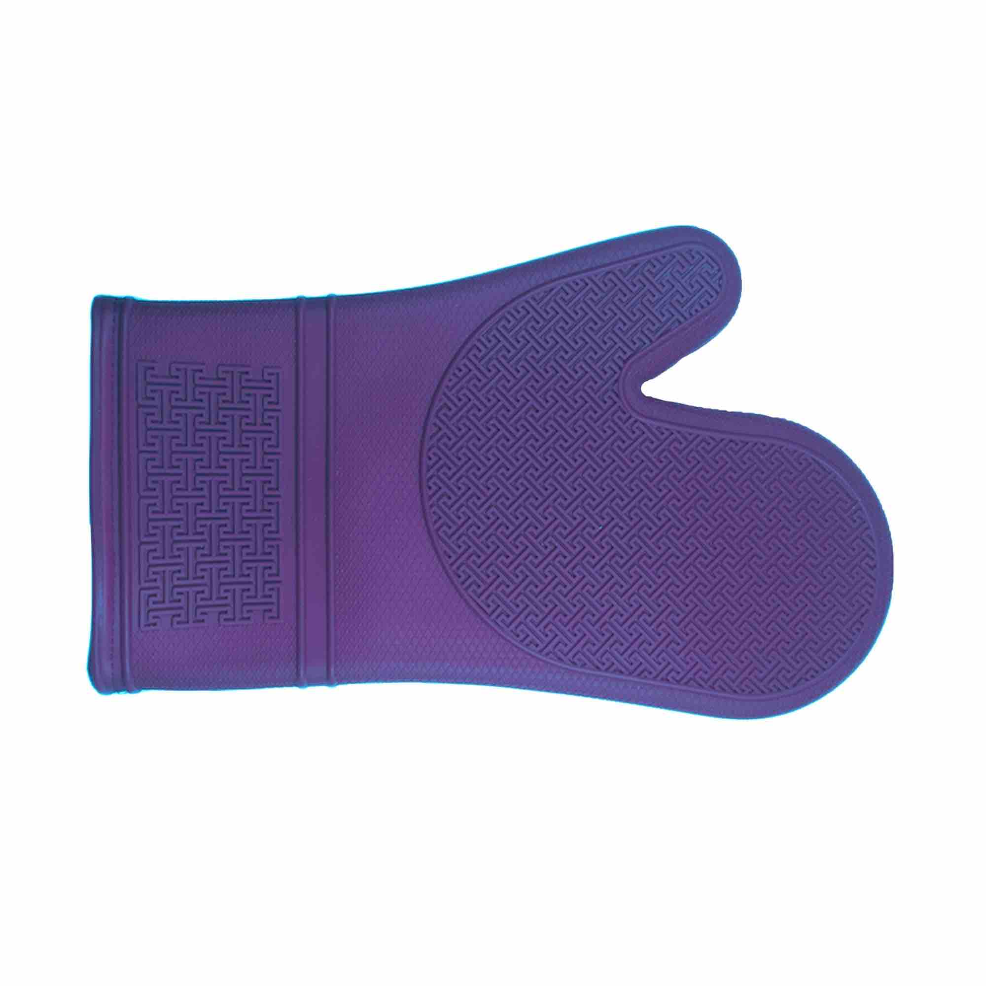 Silicone Oven Mitt with Cotton Lining | Ultra Violet