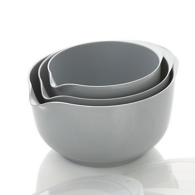 3pc Rosti Margrethe Mixing Bowl Set | Grey