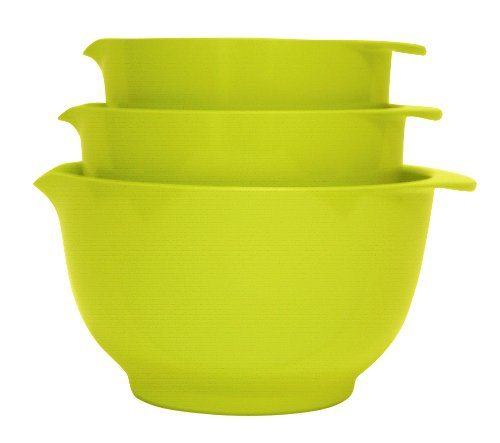 3pc Rosti Margrethe Mixing Bowl Set | Lime