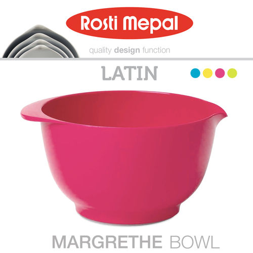 3pc Rosti Margrethe Mixing Bowl Set | Latin Pink
