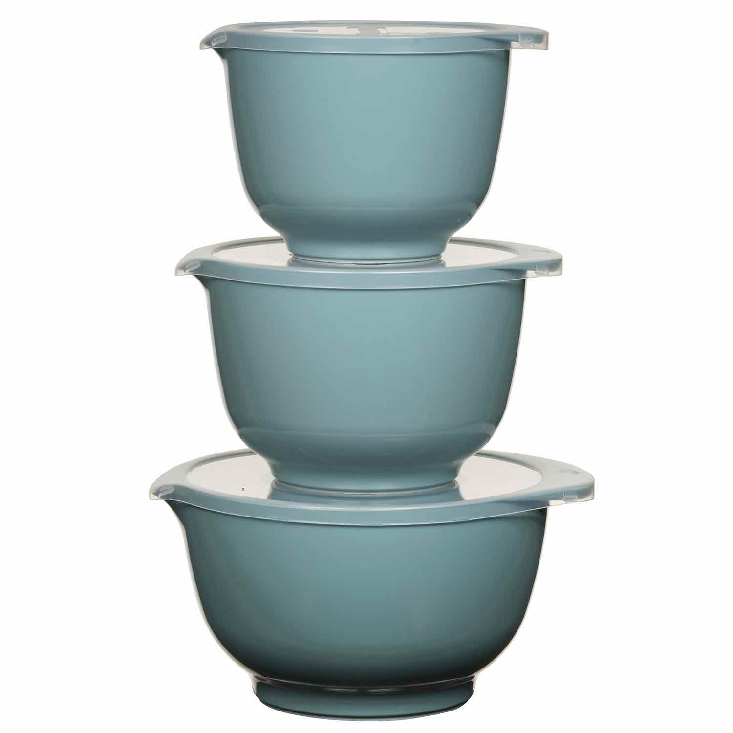 3pc Rosti Margrethe Mixing Bowl Set | Nordic Green