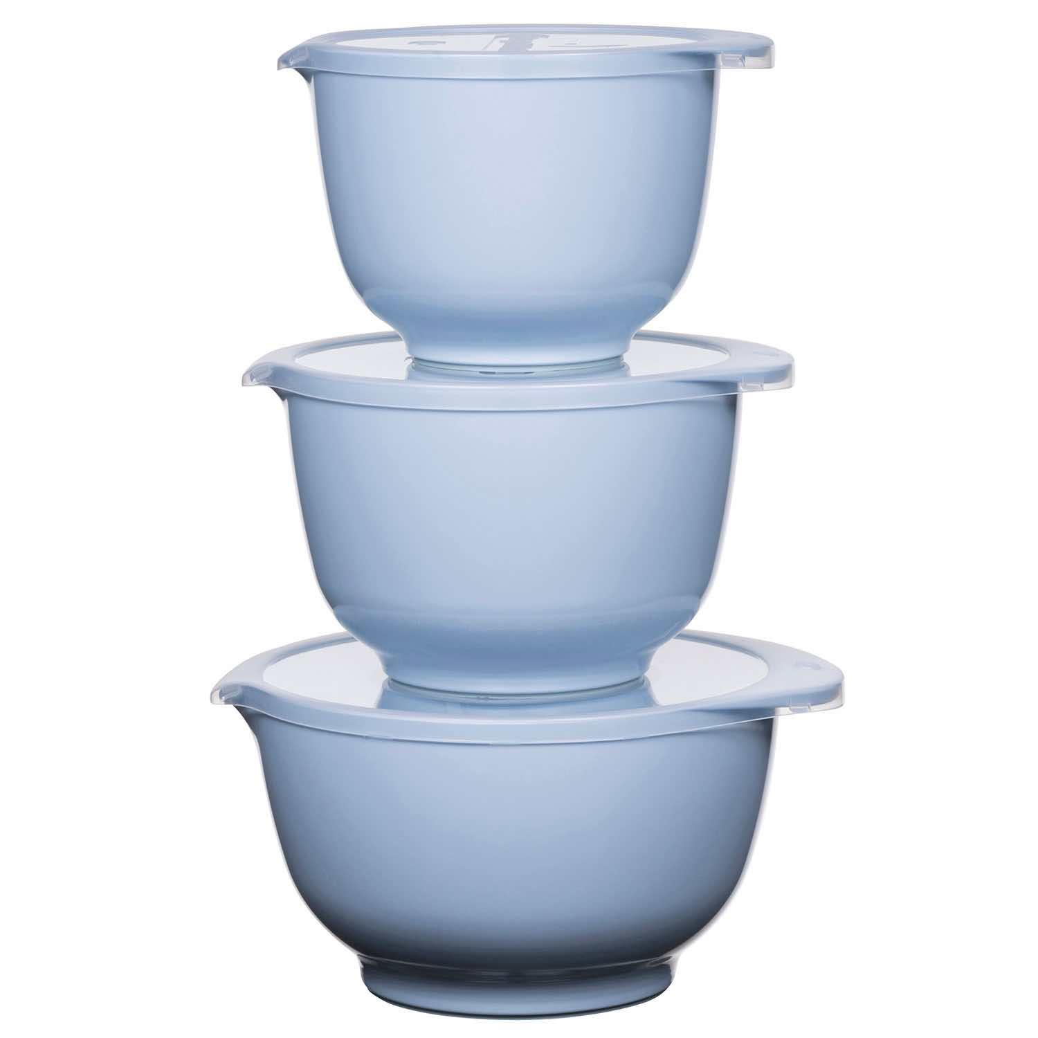 3pc Rosti Margrethe Mixing Bowl Set | Retro Blue