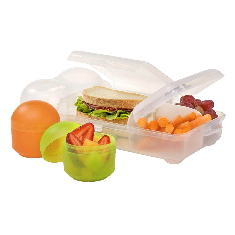 Nude Food Movers 3pc Bento Lunch Box