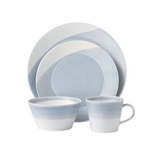 Royal Doulton 1815 Dinnerware Blue 4pc Place Setting