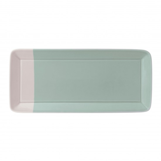 Royal Doulton 1815 Rectangular Serving Tray - Green