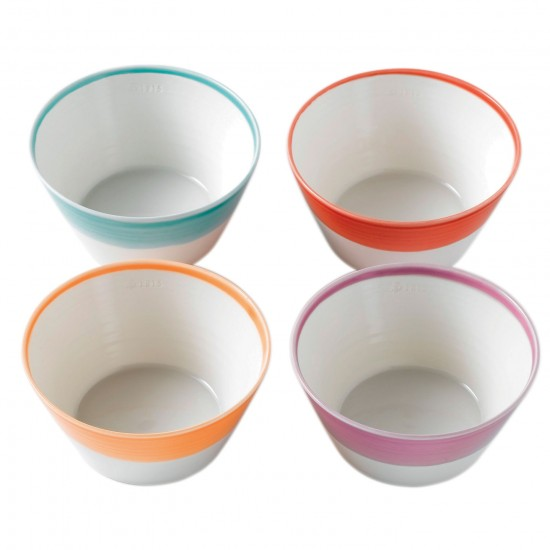 Royal Doulton 1815 Dinnerware Bright Cereal Bowls | Set of 4