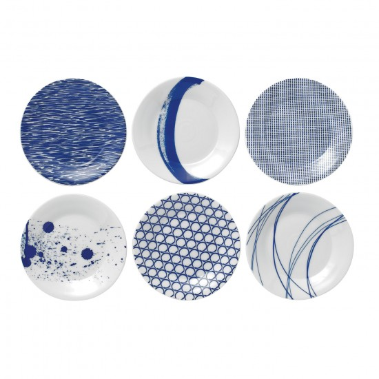 Royal Doulton Pacific Tapas Plates 16cm - Set of 6