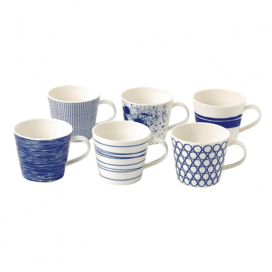 Royal Doulton Pacific Mugs | Set of 6