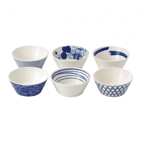 Royal Doulton Pacific Tapas Bowls 11cm | Set of 6