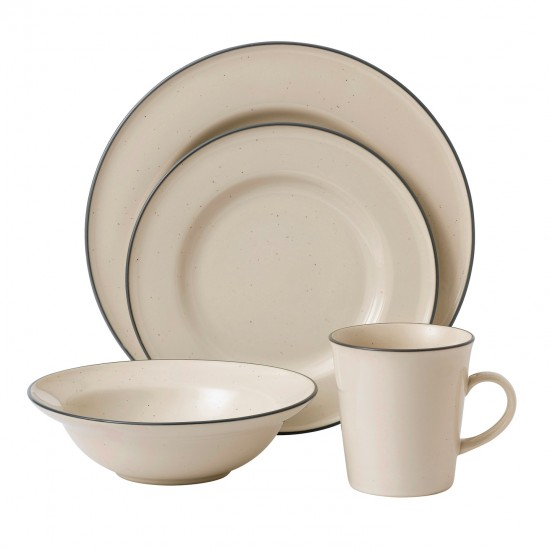 Gordon Ramsay Union Street Café 4pc Place Setting | Cream