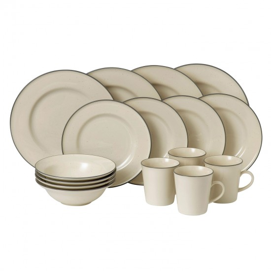 Gordon Ramsay Union Street Café Dinnerware 16pc Box Set | Cream