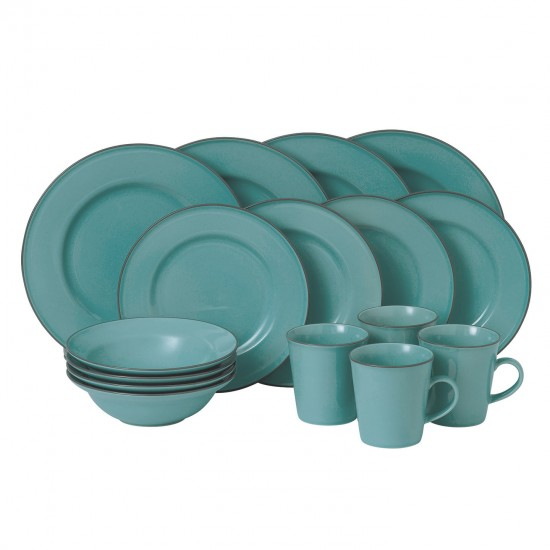 Gordon Ramsay Union Street Café Dinnerware 16pc Box Set | Blue