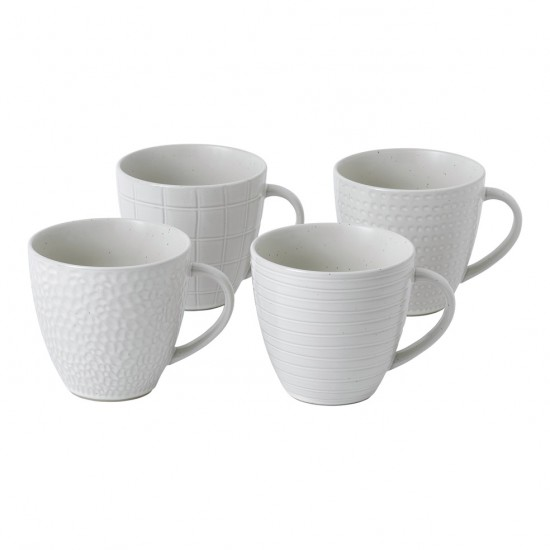 Gordon Ramsay MAZE GRILL Mixed White Mugs | Set of 4