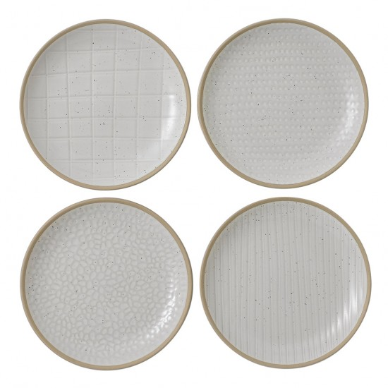 "Gordon Ramsay MAZE GRILL Mixed White 6"" Plates 