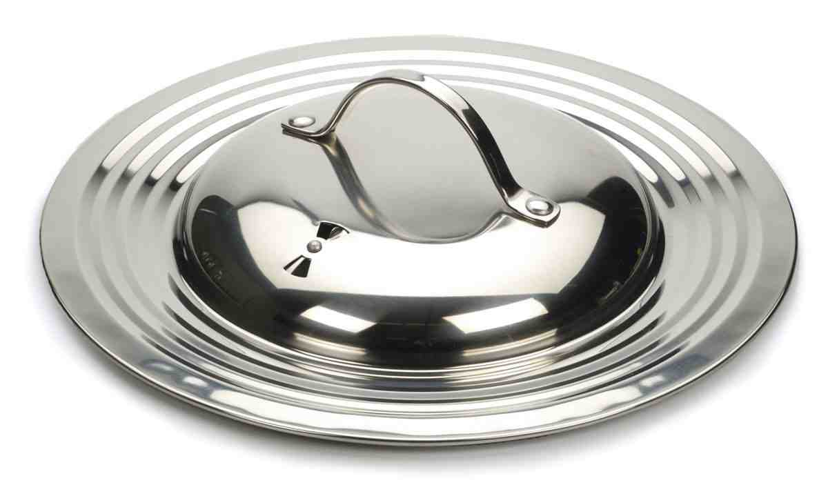 RSVP Universal Lid | Stainless Steel