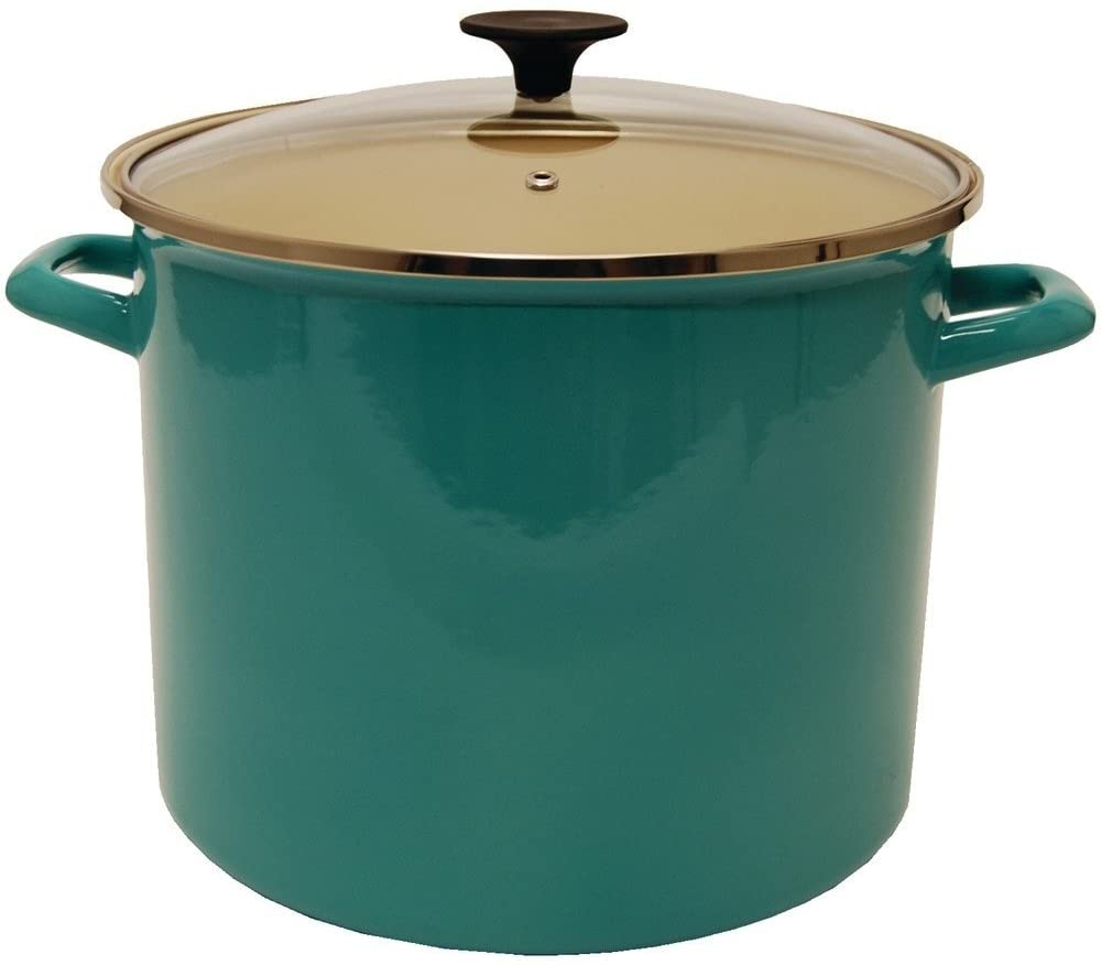 Enameled Stock Pot with Lid | 11L
