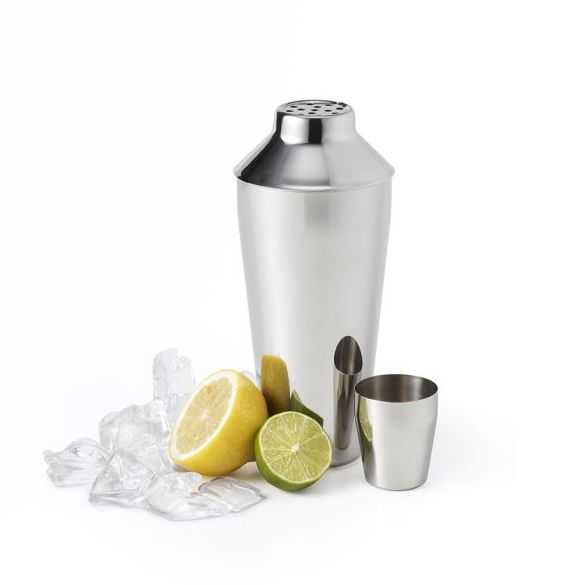Cocktail Shaker with Jigger Cap
